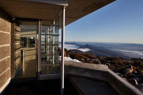 Costruire nella natura: Mt Wellington Pinnacle Amenities
