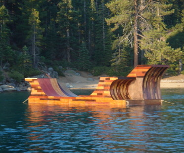 Floating Ramp. Quando lo sport incontra il progetto.