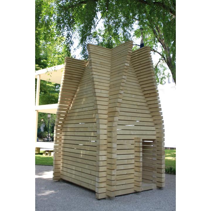 Floornaturelive padiglione finlandia alla biennale di for Architettura temporanea
