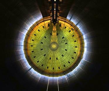 320° Licht, installazione di luce di Urbanscreen al Gasometer Oberhausen
