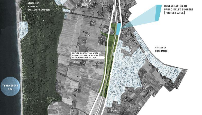 Rigenerazione del parco delle Sughere, finalista Next Landmark 2014