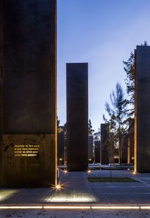 Memorial to Victims of Violence in Mexico, Gaeta-Springall Architects