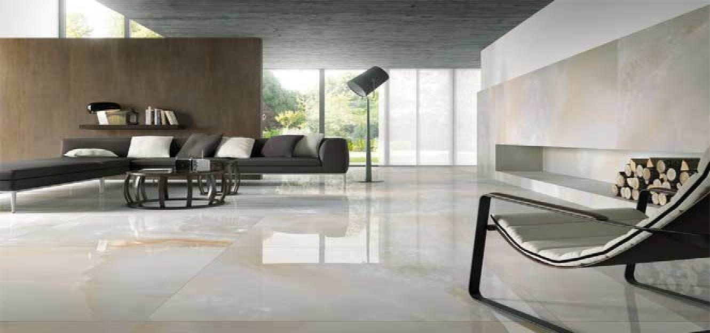 Large Porcelain Tile Floor