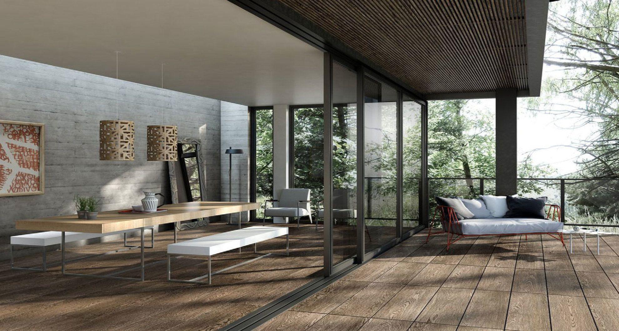 Piastrelle Per Esterni Effetto Legno : Piastrelle in gres effetto legno per ambienti interni ed esterni