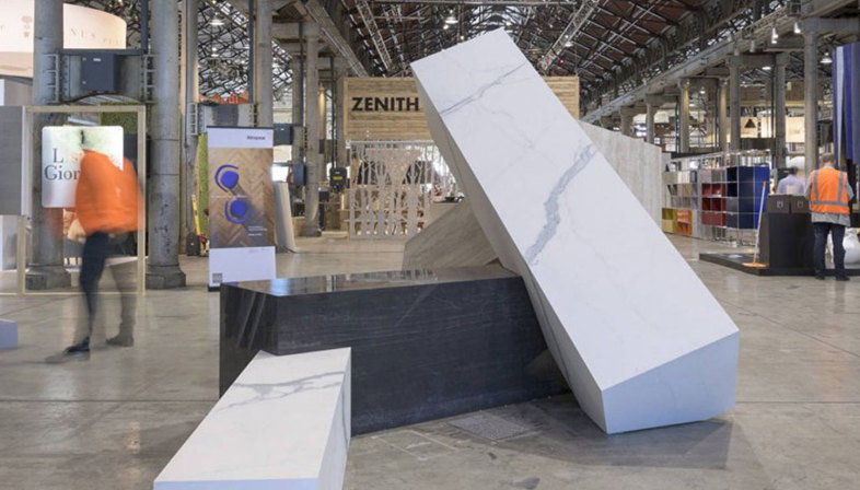 Il grande formato delle piastrelle in gres maximum una nuova frontiera progettuale floornature - Piastrelle maxi formato ...