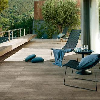 French woods superfici in gres effetto legno floornature for Raccordo casa contemporanea