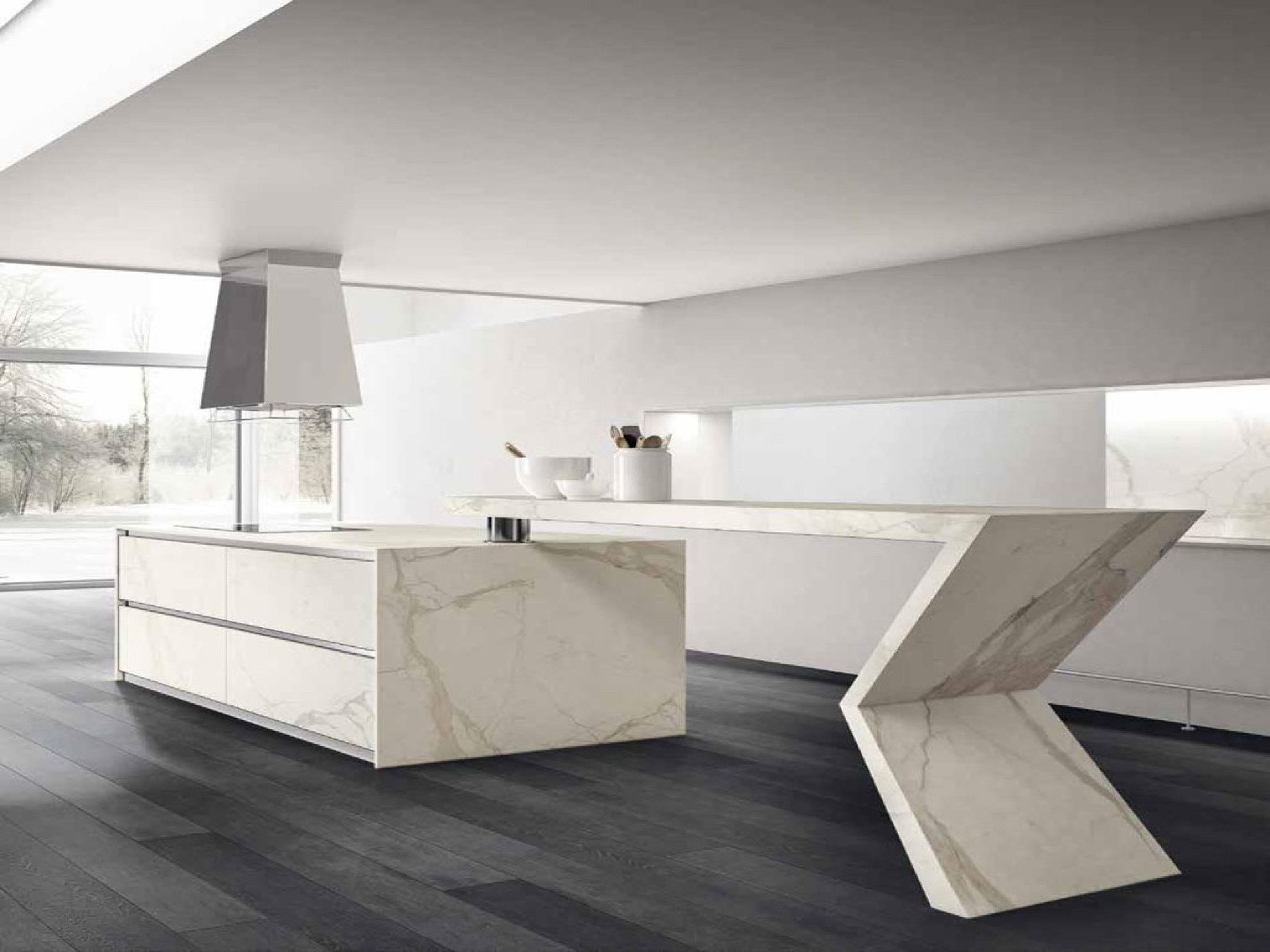 Tradizione e modernita delle piastrelle fmg effetto marmo - Resina in cucina al posto delle piastrelle ...