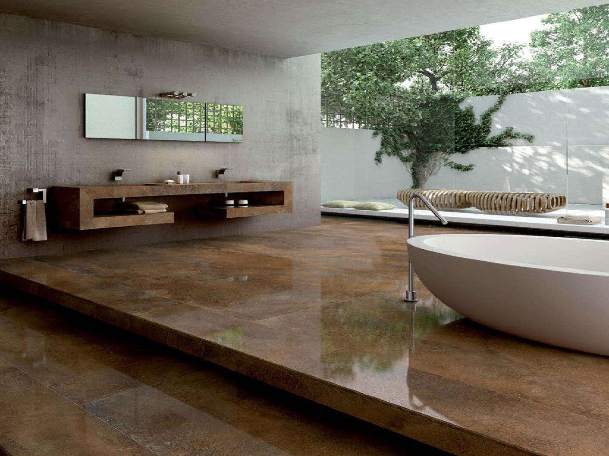 Piastrelle in gres per gli ambienti contemporanei floornature