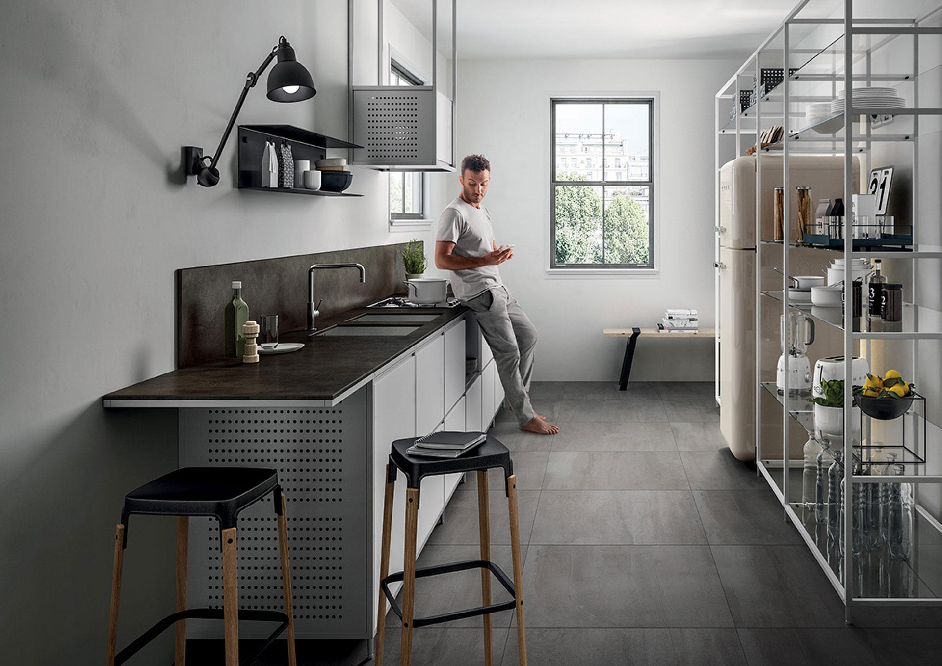 SapienStone: il top cucina ideale e; in gres porcellanato | Floornature