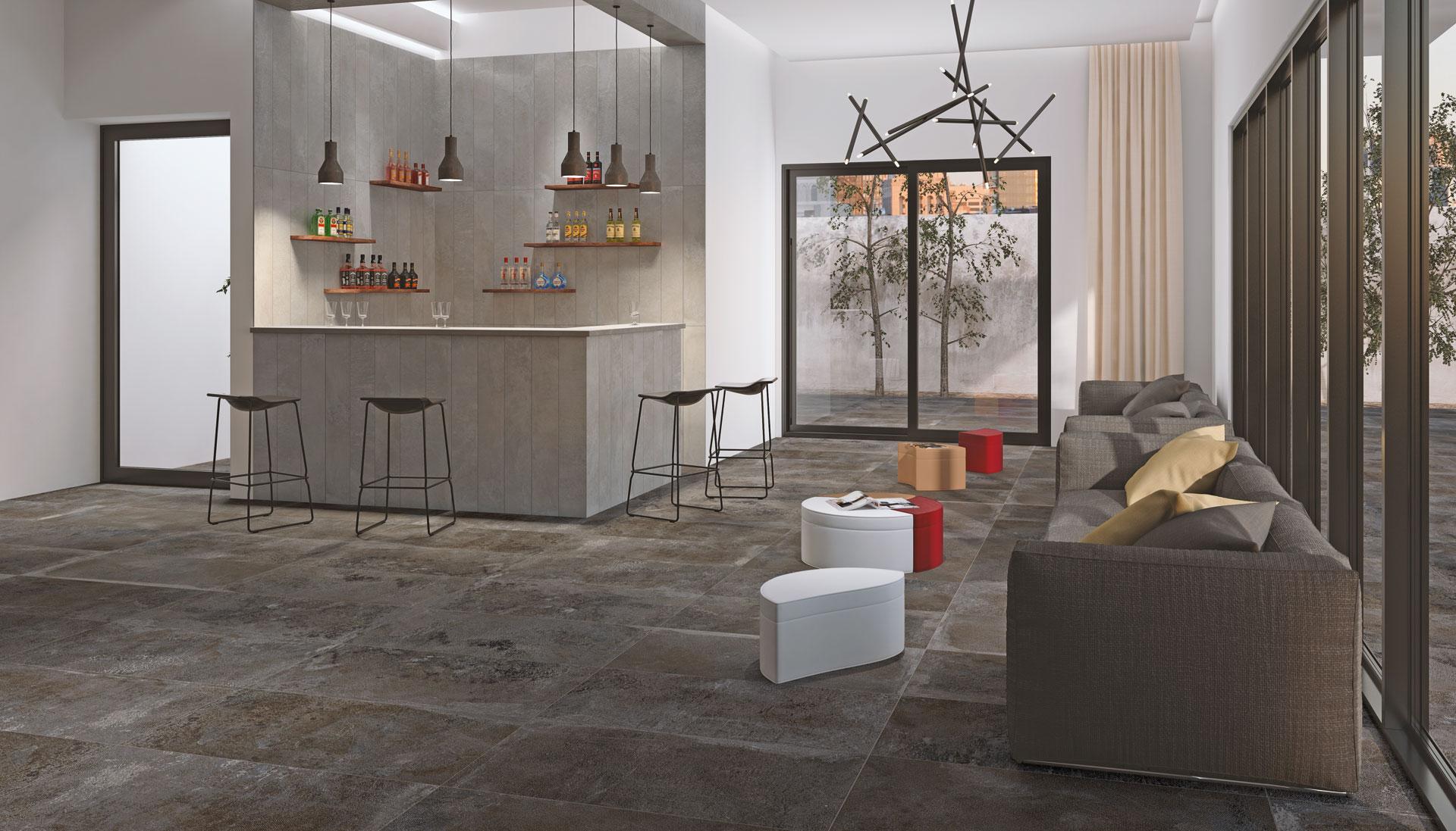 Pavimenti Stonepeak: fascino antico per atmosfere moderne