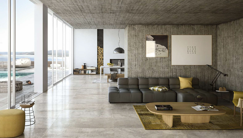 Urban living design: City e Mile_Stone di Porcelaingres