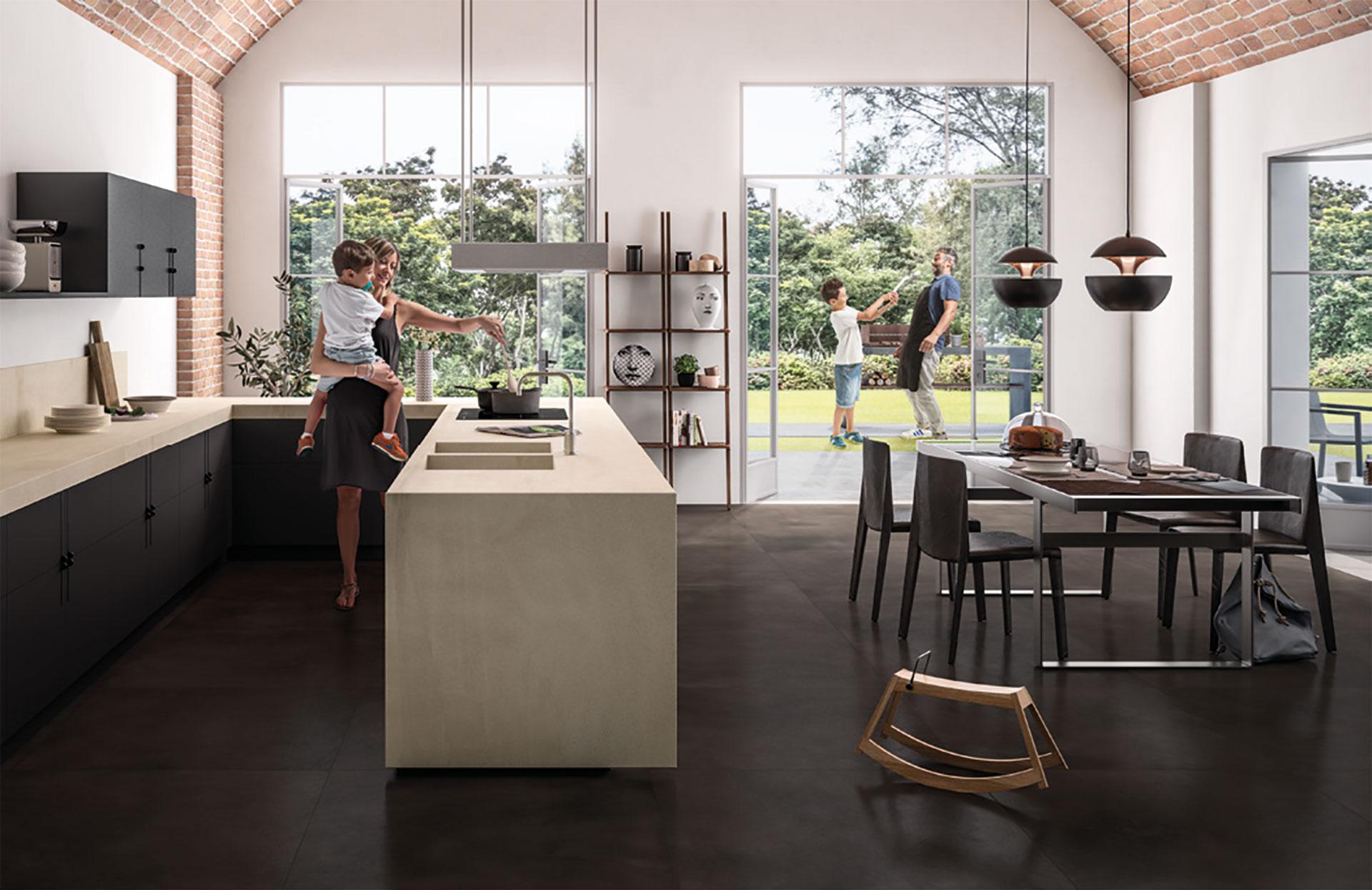 SapienStone: il primo brand di gres porcellanato per i top cucina ...