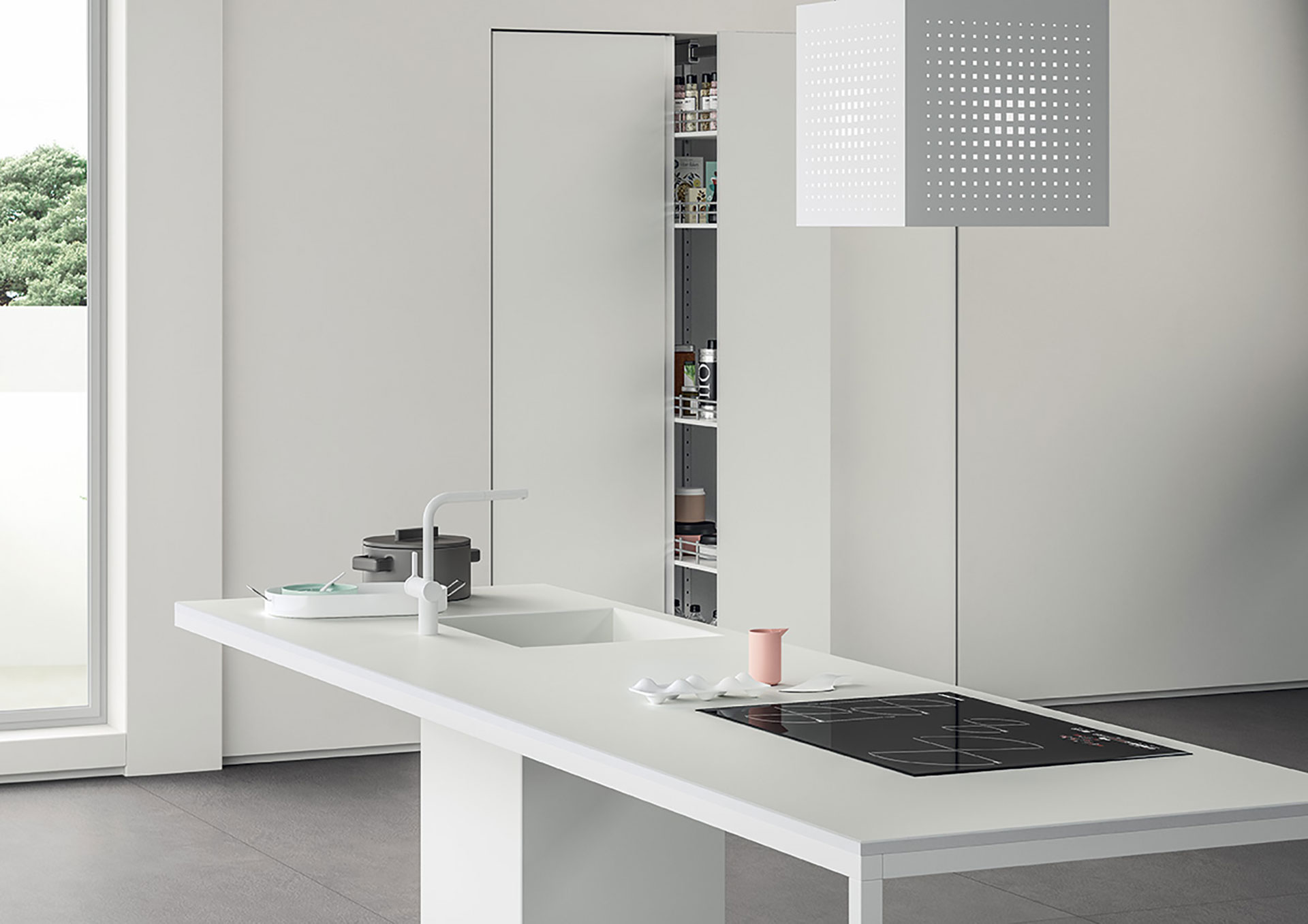 SapienStone: il miglior piano lavoro e top cucina in gres porcellanato