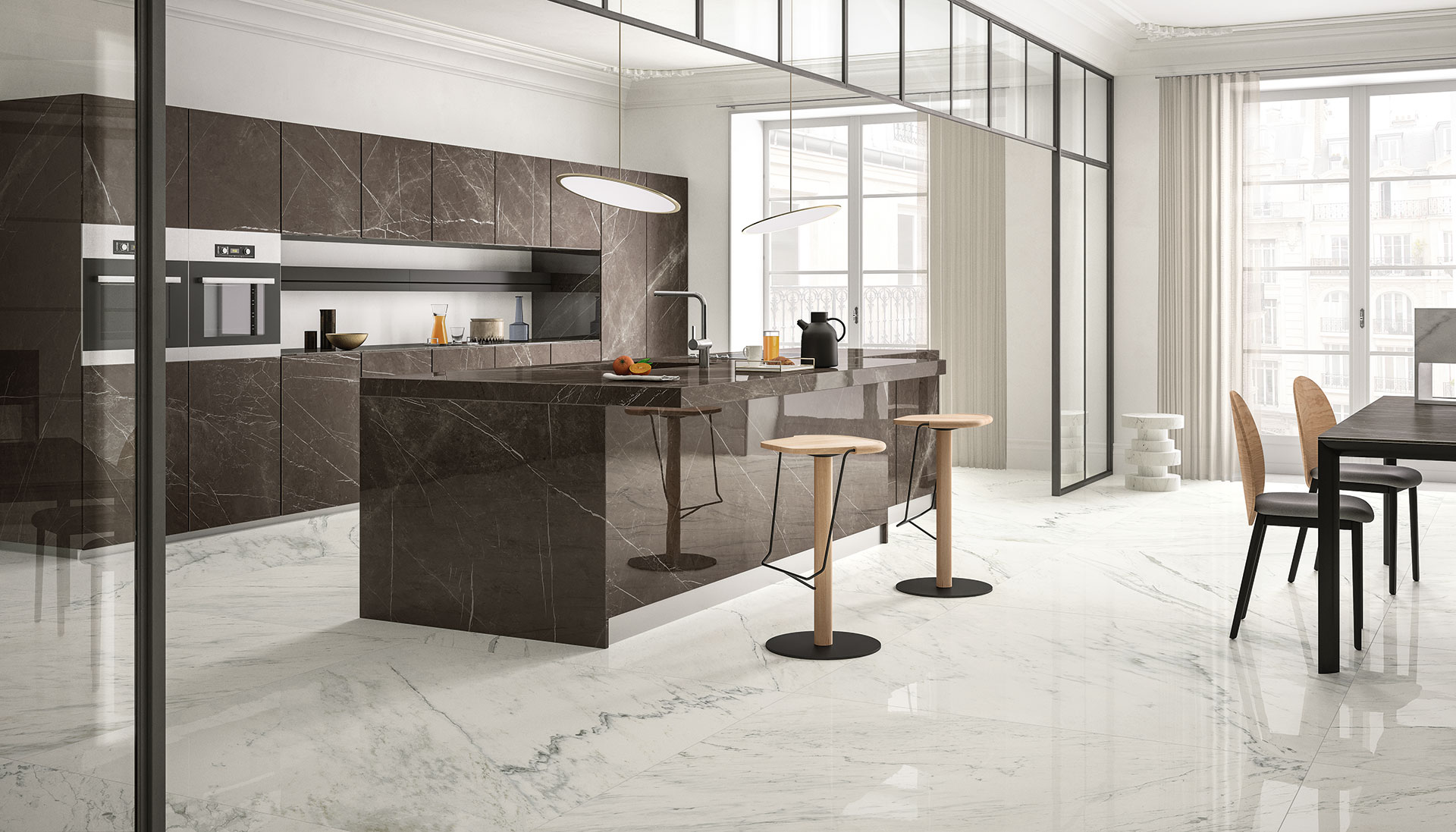 SapienStone: il primo brand in gres porcellanato per top cucina ...