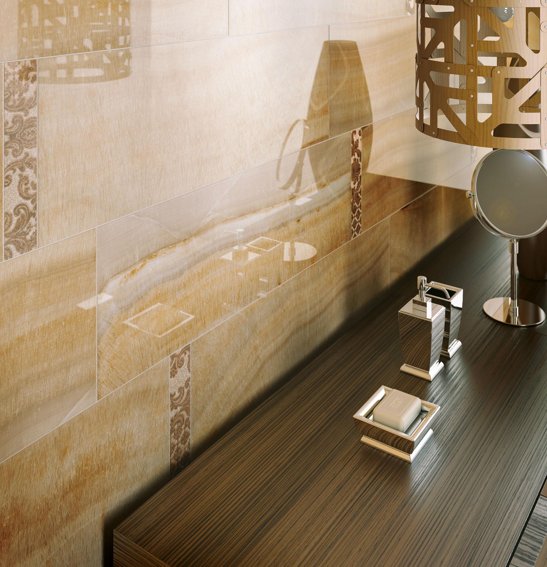 Il fascino degli ambienti classici IRIS: pavimenti e rivestimenti Muse