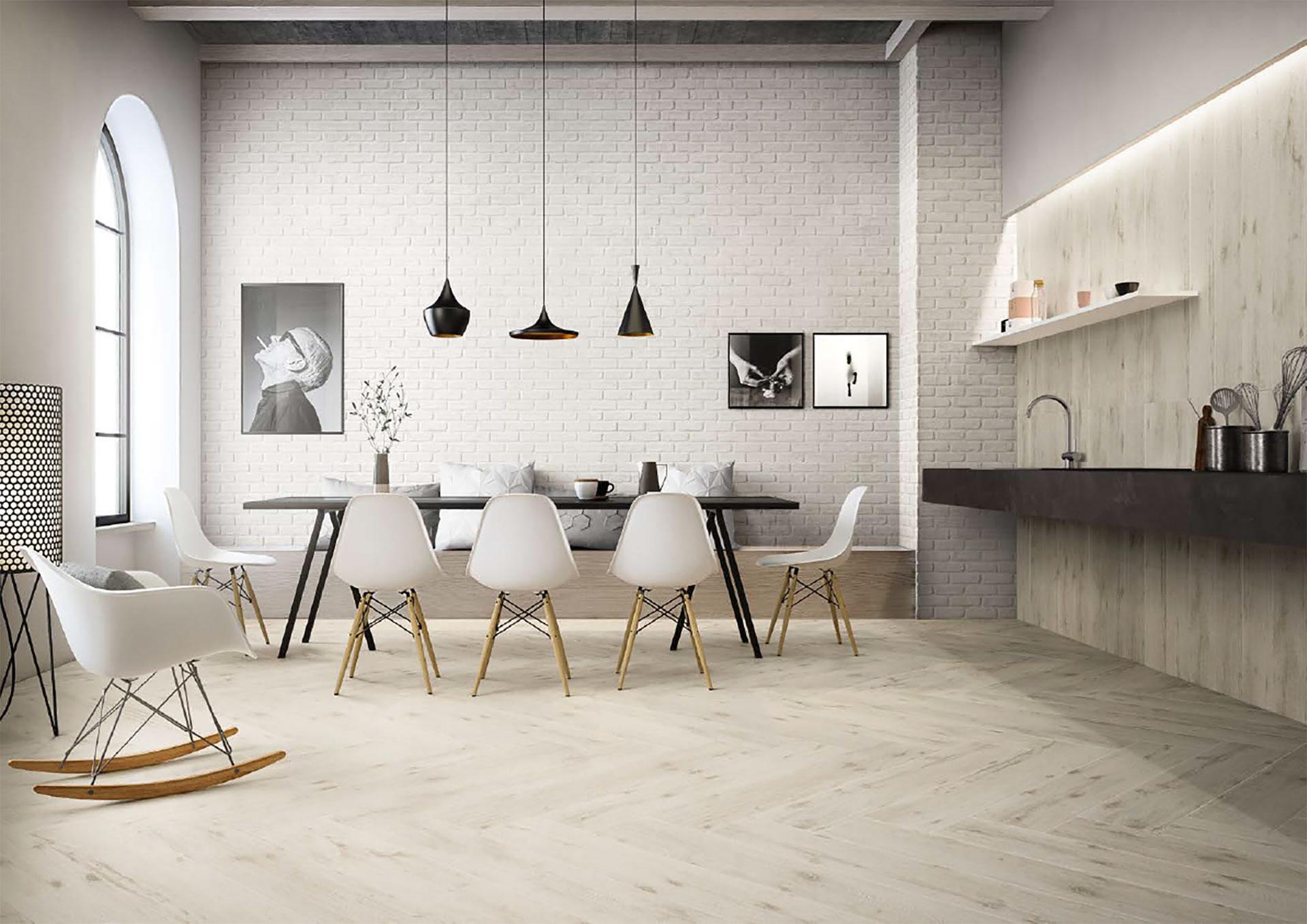 Idee design gres porcellanato effetto legno per ogni stile della