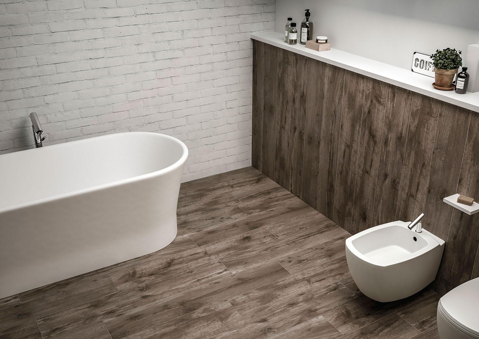 Idee design gres porcellanato effetto legno per ogni stile della casa