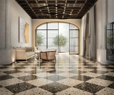 Nuove collezioni FMG: con Venice Villa rivive il fascino del terrazzo alla veneziana