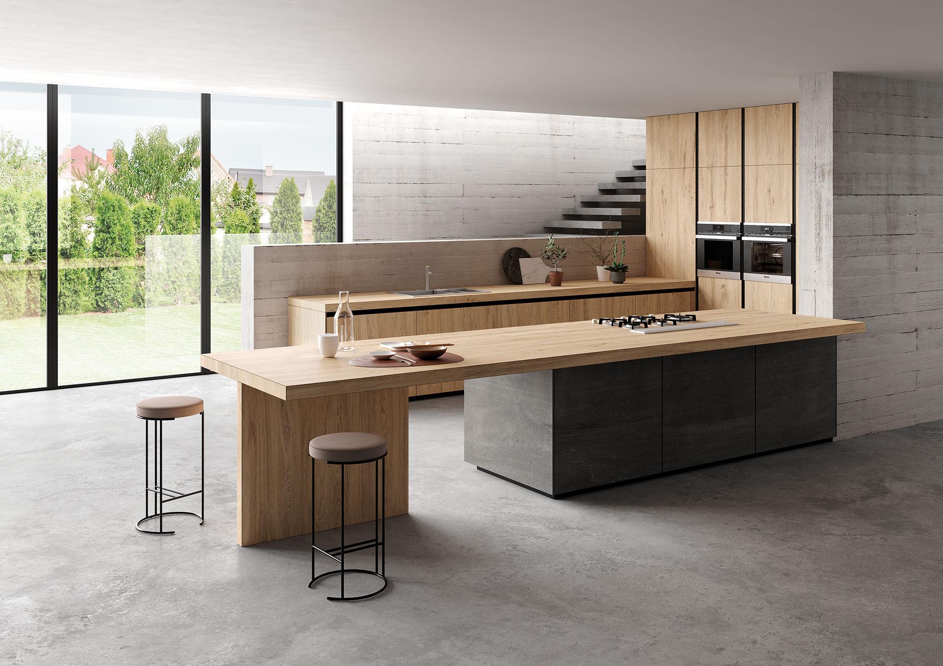 Top Cucina In Resina top cucina effetto legno: la nuova collezione rovere