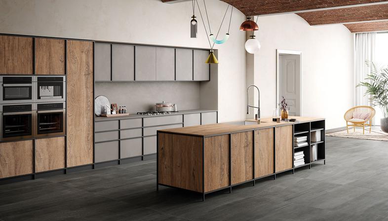 Top cucina effetto legno la nuova collezione rovere for Nuove ricette cucina