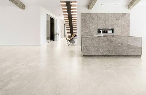 Nuove ispirazioni per lo stile minimalista: CON.CREA. e Blend.HT Ariostea