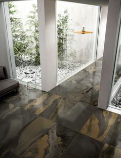 Diesel Living with Iris Ceramica: i nuovi effetti di design Cosmic Marble