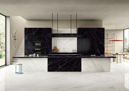 Noir e Dark Marquina: top cucina scuri SapienStone