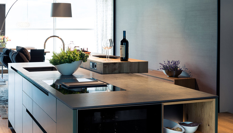 Top cucina SapienStone: estetica e massima praticità per ogni stile di cucina