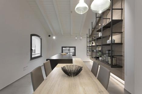 SapienStone: cucine open space, isole e penisole