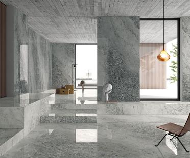 Nuove superfici Ariostea per atmosfere in stile classico e contemporaneo