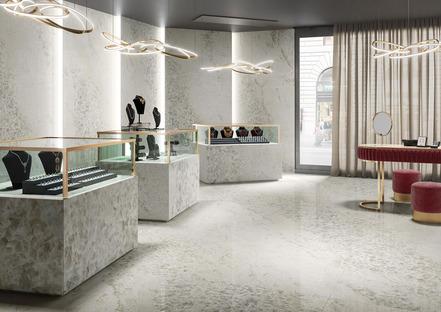 Maxfine Gemstone: l'estetica dei minerali per nuove superfici ceramiche