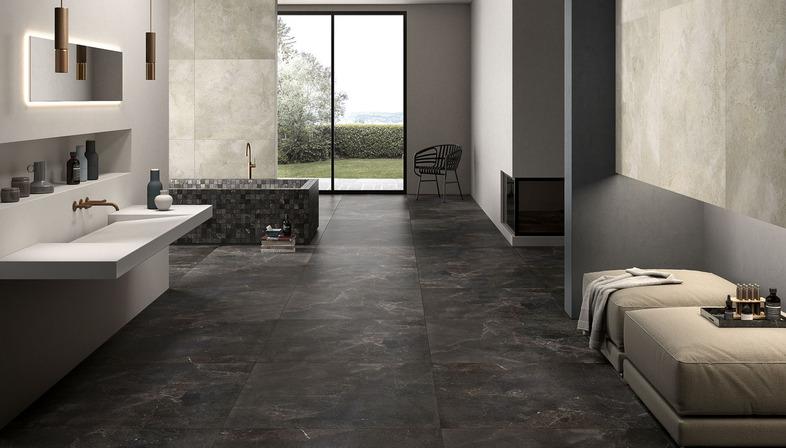 L'armonia della pietra e del marmo: pavimenti e pareti Royal Stone