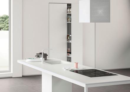 Classico e contemporaneo nei nuovi ambienti cucina SapienStone