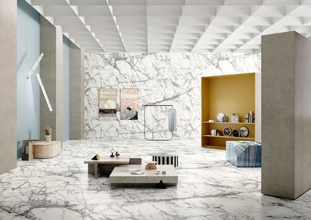 Funzionale e decorativo: le due anime del marmo nelle nuove collezioni Fiandre