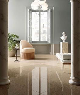 Classico e contemporaneo, sempre attuale ed elegante: il Veneziano di Fiandre Architectural Surfaces