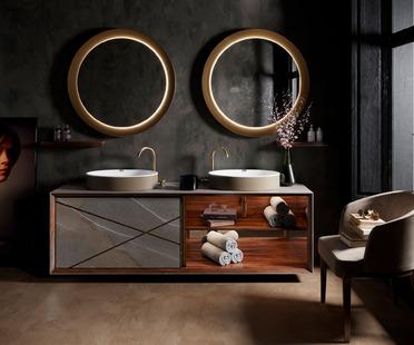 Seventyonepercent: nuovi concept per il bagno nel segno della ceramica tecnica