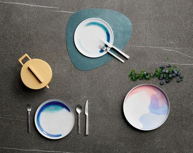 Ambienti cucina eleganti e funzionali: top SapienStone su toni di grigio