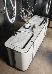 La forza e la bellezza della ceramica tecnica nel bagno contemporaneo: l'arredo esclusivo Seventyonepercent