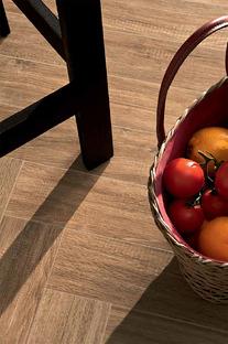 Atmosfere calde e rilassanti con la ceramica tecnica effetto legno