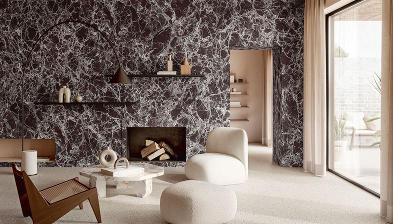 Il fascino e la bellezza del grande formato ceramico: i nuovi marmi Iris Ceramica Group