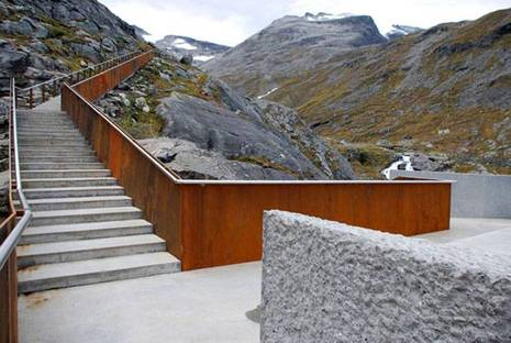Trollstigen. Progetto: RRA Reiulf Ramstad Architects