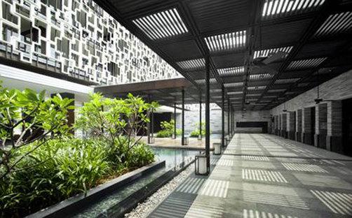 Resort, isola di Hainan (Hainan Dao), Cina. Progetto: WOHA.