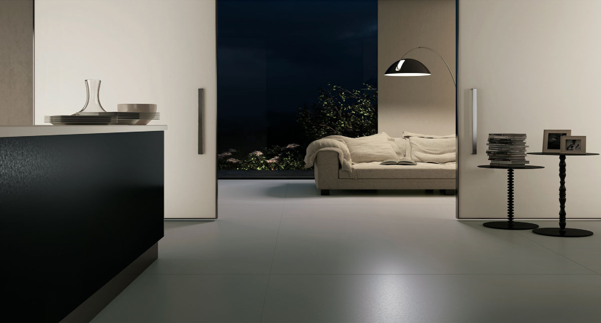Piastrelle di grande formato: suggerimento per luso floornature
