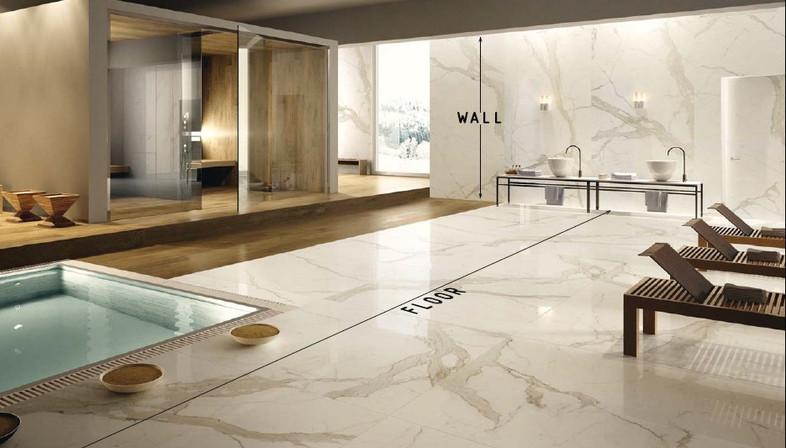 Rivestimenti per una cucina alla moda floornature - Una piastrella policroma per rivestimenti ...