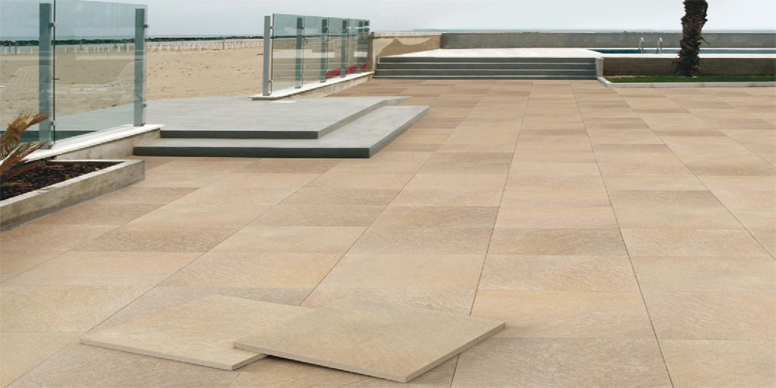 Pavimenti per esterni piastrelle sottili posa su pavimenti - Materiale per piastrelle ...