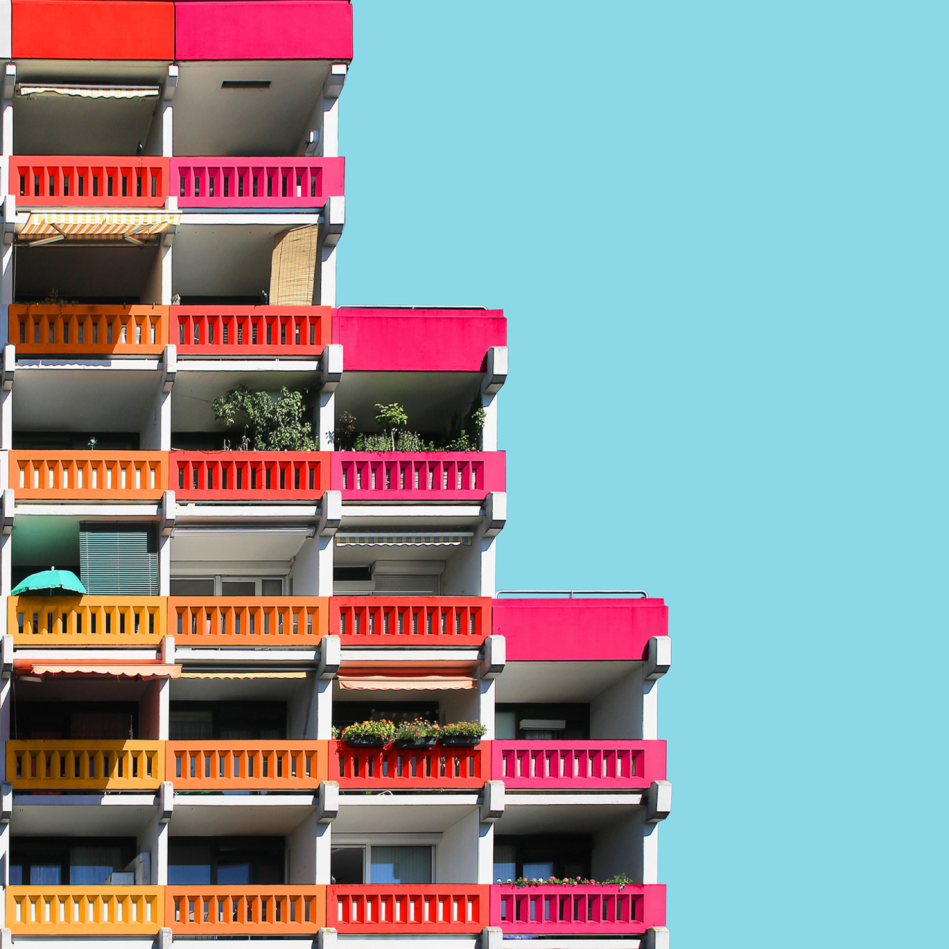 Paul Eis: colorare l'architettura