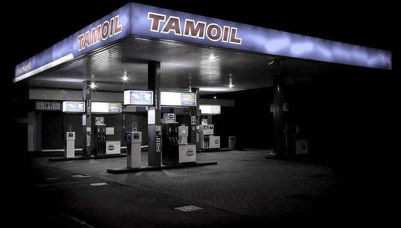Gas Stations, architettura, metafora visiva
