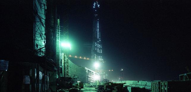 Dubai in costruzione