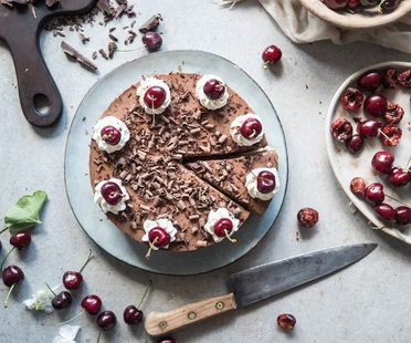 <strong>Black Forest Cheesecake - ricetta di Fotogrammi di Zucchero</strong><br />