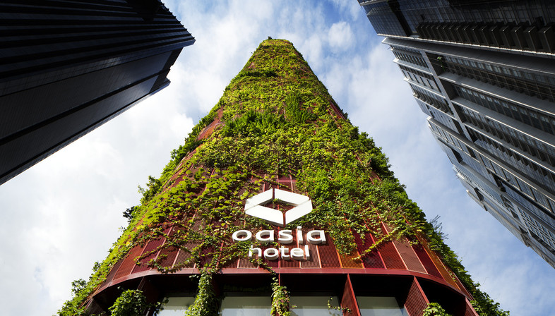 OASIA HOTEL Grattacielo verde in Singapore – WOHA Architects